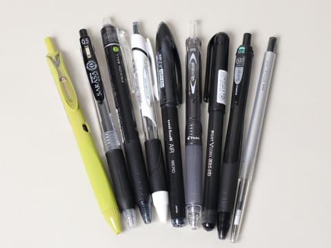レビュー】油性・水性・ゲルボールペンを比較。同じ0.5mmでも太さが ...