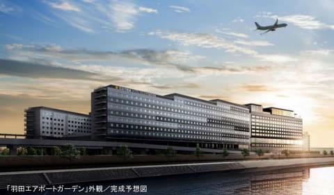 羽田エアポートガーデン」4月21日開業。90店舗と日本最大空港直結 ...
